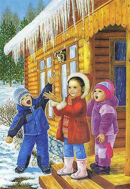 Картинки на тему Весна для детского сада - самые красивые и прикольные 9