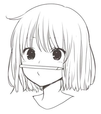 Красивые аниме картинки для срисовки - интересная коллекция №3 14