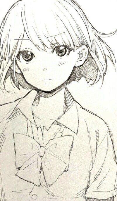 Красивые аниме картинки для срисовки - интересная коллекция №3 15