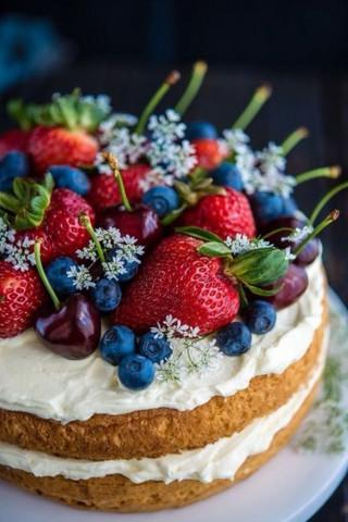 Красивые и прикольные картинки еды для телефона - скачать бесплатно 19