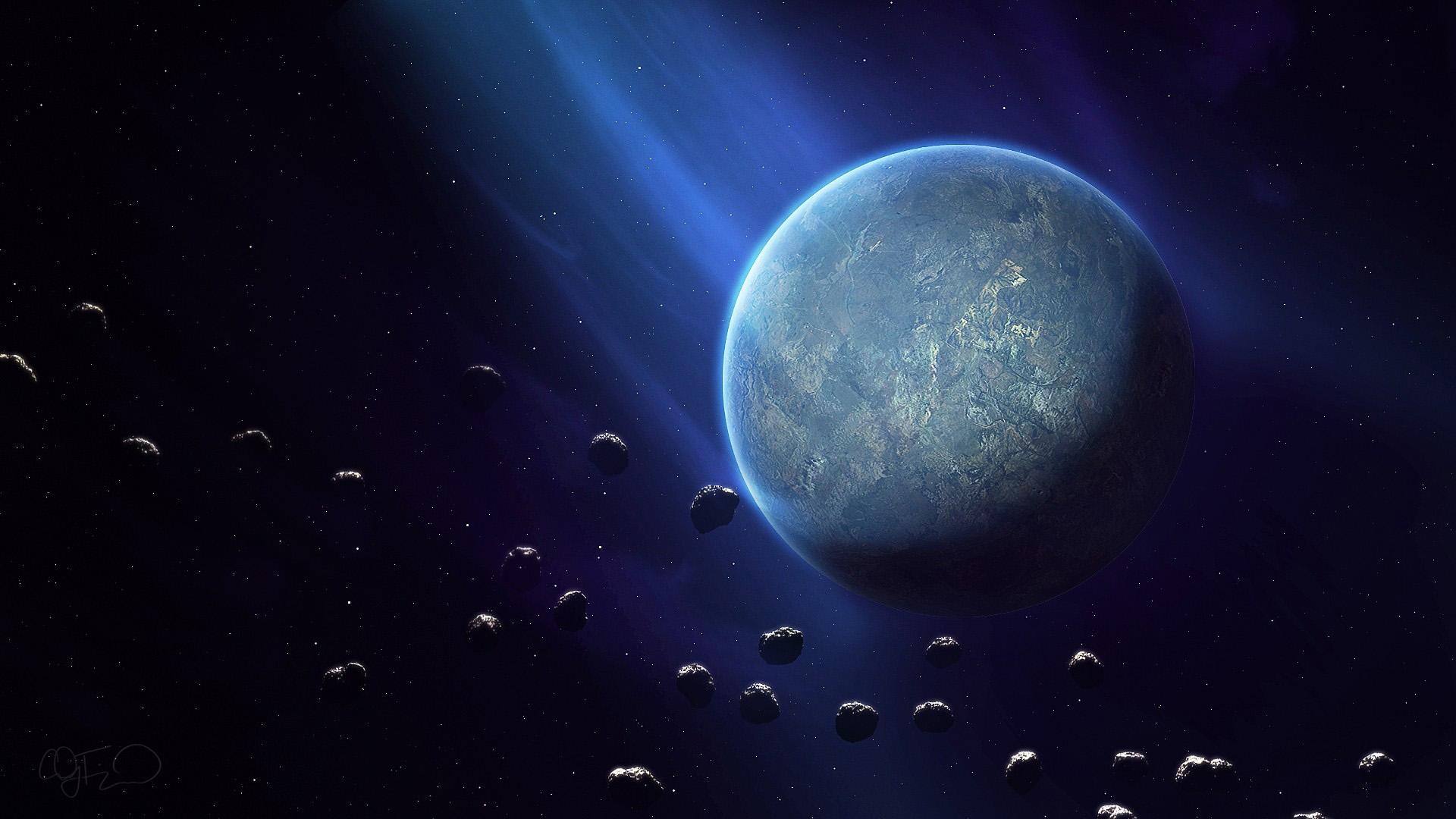 Красивые и прикольные картинки звезд и планет на рабочий стол №6 8