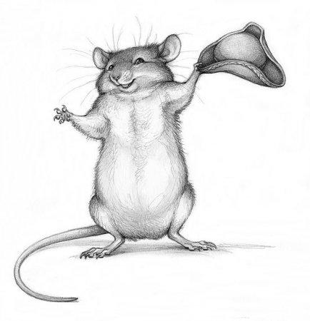 Красивые и прикольные нарисованные картинки животных - лучшая подборка 17