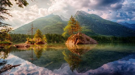 Красивые пейзажи природы фото и картинки - самые удивительные 17