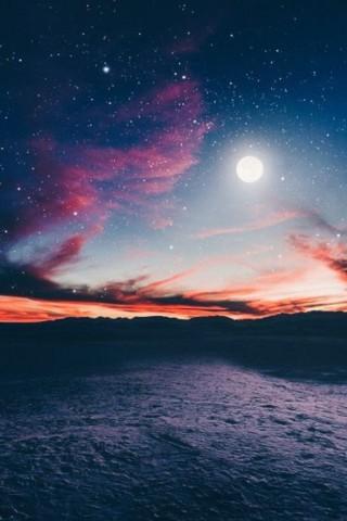 Скачать бесплатно картинки неба на телефон - самые красивые и крутые 14