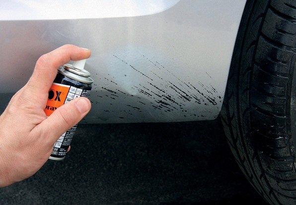 Удаление битумных пятен с автомобиля - самые действенные средства 2