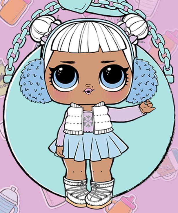 Картинки L.O.L. куклы для срисовки для девочек - скачать бесплатно 13