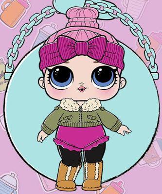 Картинки L.O.L. куклы для срисовки для девочек - скачать бесплатно 3