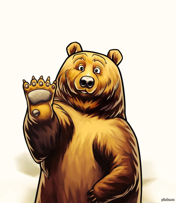 Медведь на картинках и фотках - очень красивые и интересные 1