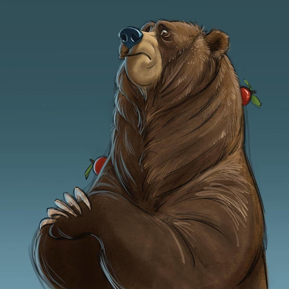 Медведь на картинках и фотках - очень красивые и интересные 4