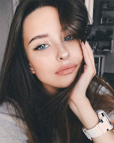Милые и красивые картинки девушек 2018 - лучшая коллекция №20 3