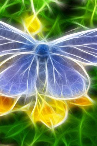 Прикольные и красивые картинки на телефон бабочки - подборка 15