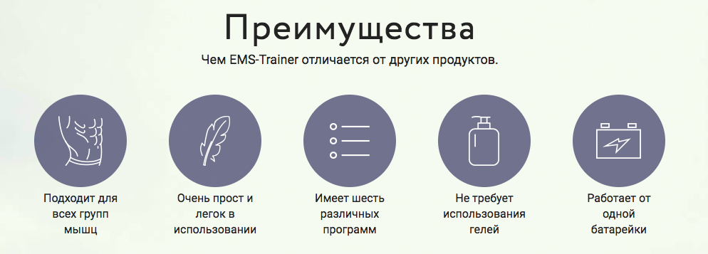 Реальные отзывы на пояс EMS Trainer - какие преимущества и недостатки 3