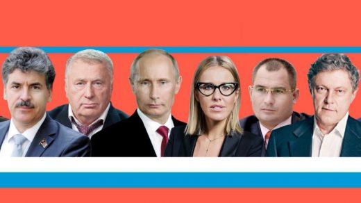 Результаты выборов президента России. Кто победил на выборах 2018 1
