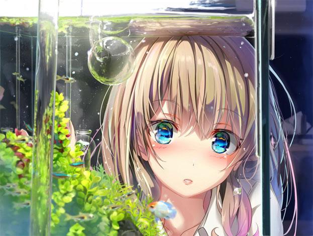 Скачать картинки аниме девушки - очень прикольные и красивые 1
