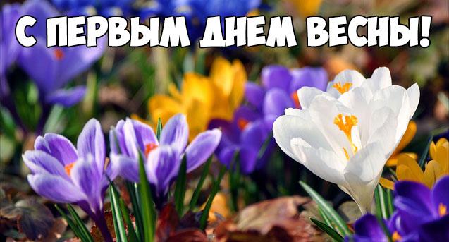 С Первым Днем Весны - красивые и прикольные картинки, скачать 2
