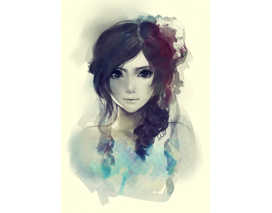 Картинки на аву для девушек нарисованные и рисунки - самые лучшие 1