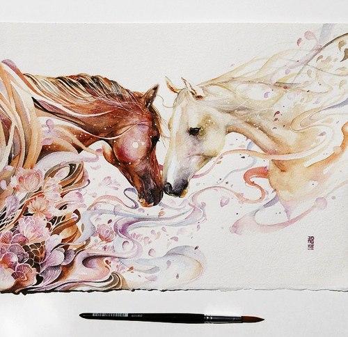 Картинки на аву для девушек нарисованные и рисунки - самые лучшие 11