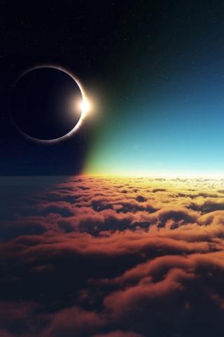 Картинки на телефон небо, облака, солнце - очень красивые и крутые 11