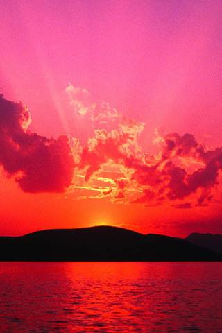 Картинки на телефон небо, облака, солнце - очень красивые и крутые 16