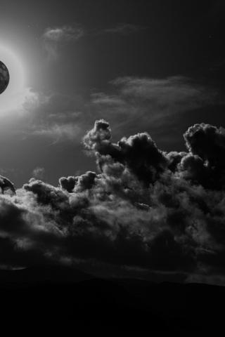 Картинки на телефон небо, облака, солнце - очень красивые и крутые 3