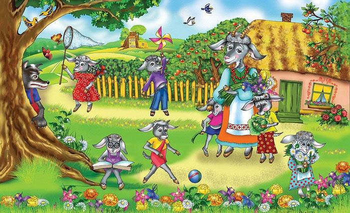 Картинки на тему русские народные сказки - красивые и интересные 13