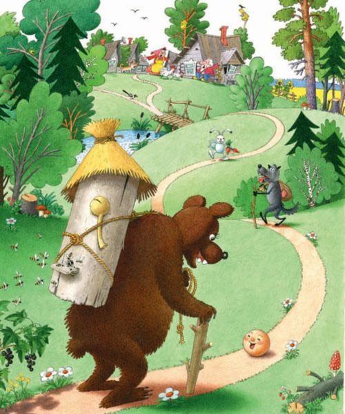 Картинки на тему русские народные сказки - красивые и интересные 21