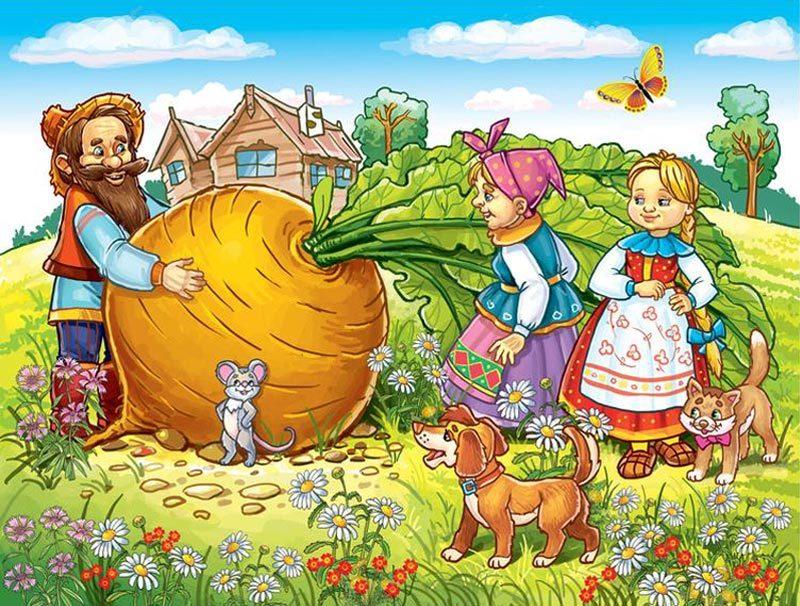 Картинки на тему русские народные сказки - красивые и интересные 8
