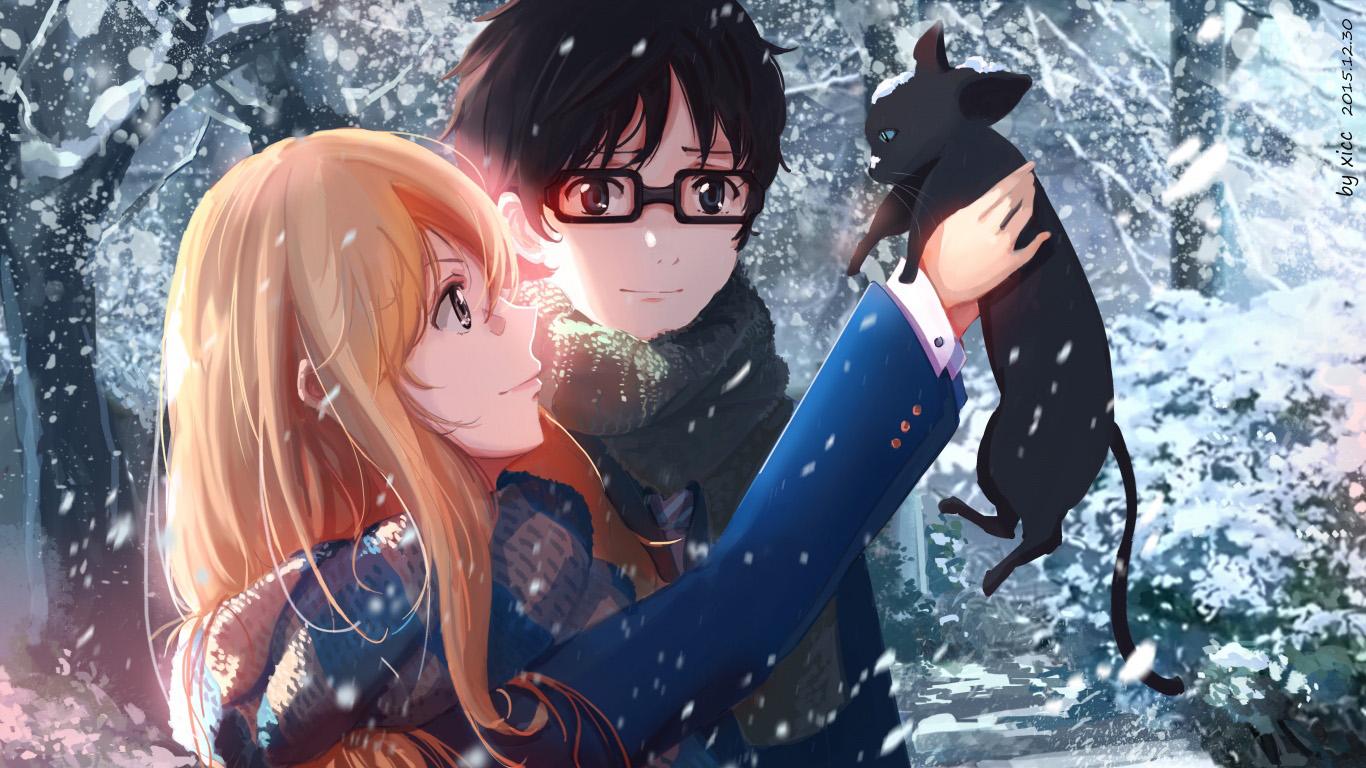 Красивые и крутые аниме обои на рабочий стол - лучшая сборка №5 9