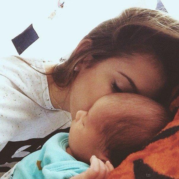 Красивые и прикольные картинки мама с ребенком - самые интересные 2
