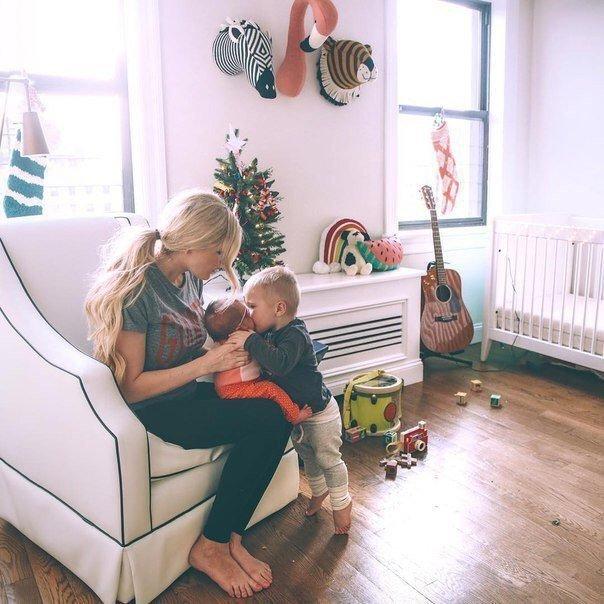 Красивые и прикольные картинки мама с ребенком - самые интересные 3