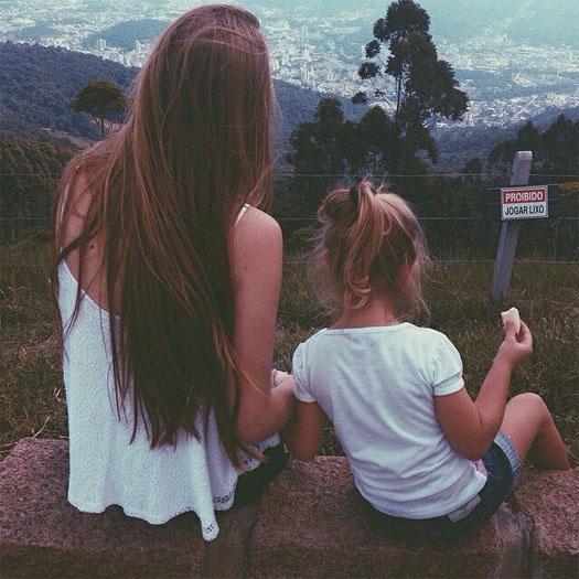 Красивые картинки аву волосы девушек - самые прикольные и крутые 2