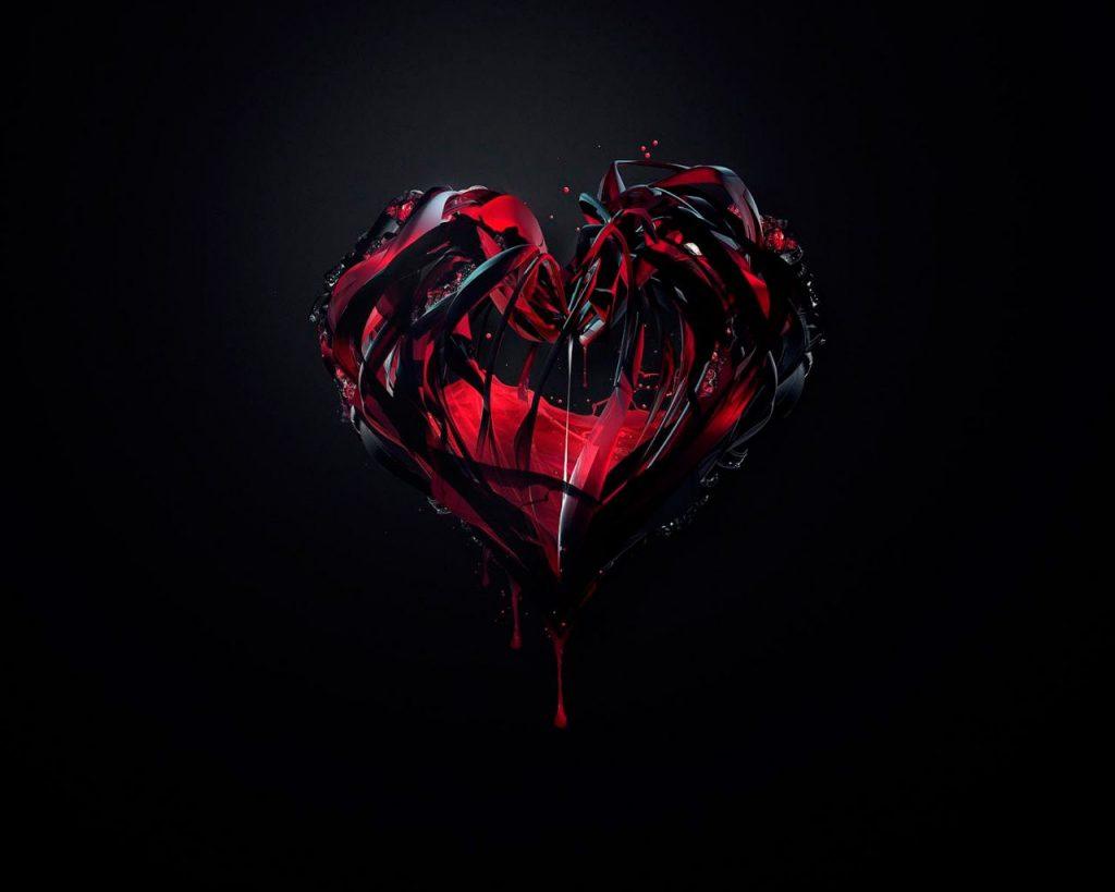 Красивые картинки сердце о любви - очень интересные и приятные 6