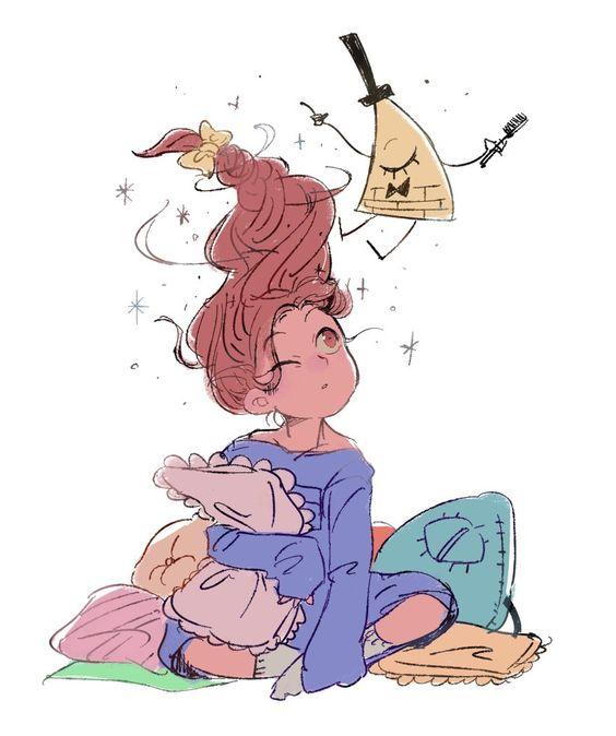Прикольные и красивые картинки Мейбл для срисовки - крутая сборка 13