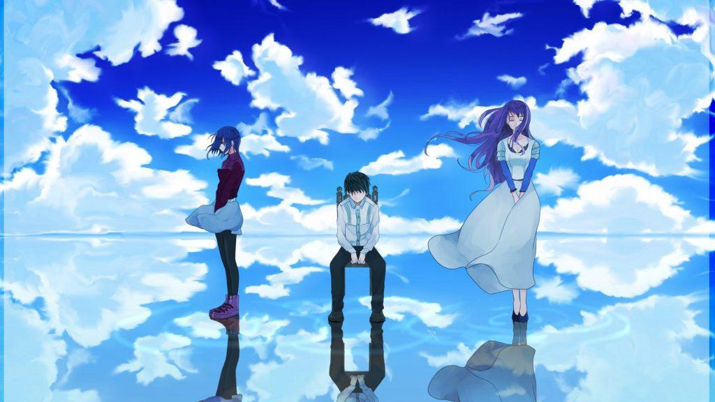 Прикольные и крутые аниме обои на рабочий стол - скачать №8 3