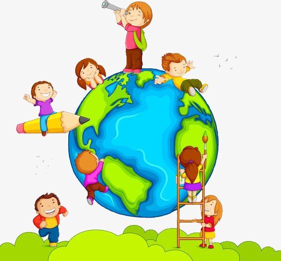 Скачать бесплатно Планета Земля картинки для детей - подборка 7