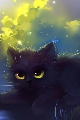 Скачать картинки котиков на телефон - лучшая сборка изображений 9