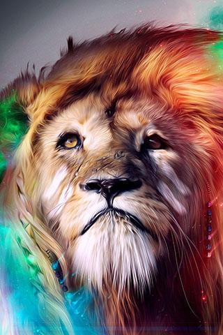 Скачать картинку лев на телефон на главный экран - лучшая сборка 15