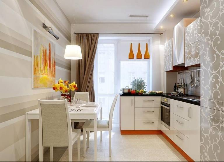 Сочетание цветов в дизайне кухни - основные правила и принципы 1