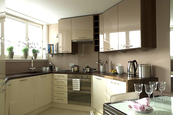 Сочетание цветов в дизайне кухни - основные правила и принципы 2