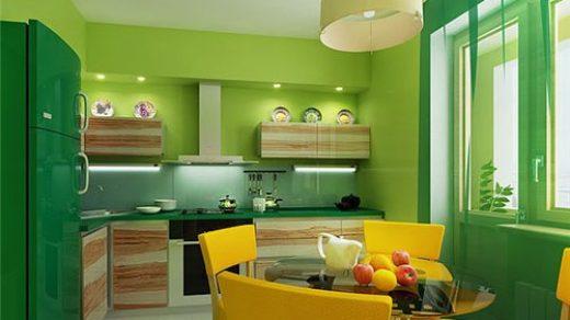 Сочетание цветов в дизайне кухни - основные правила и принципы 6