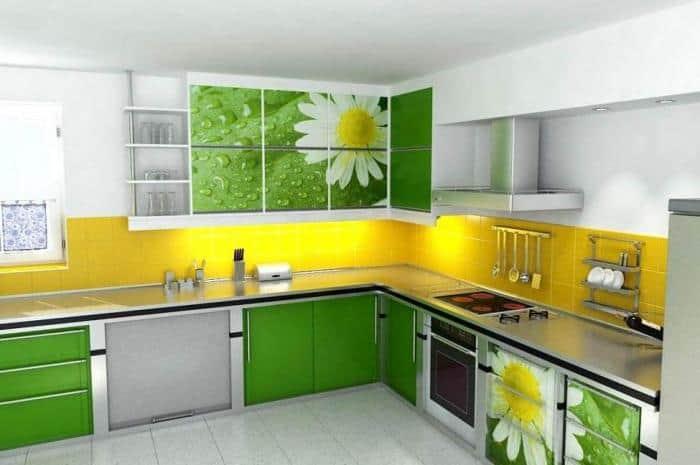 Сочетание цветов в дизайне кухни - основные правила и принципы 8
