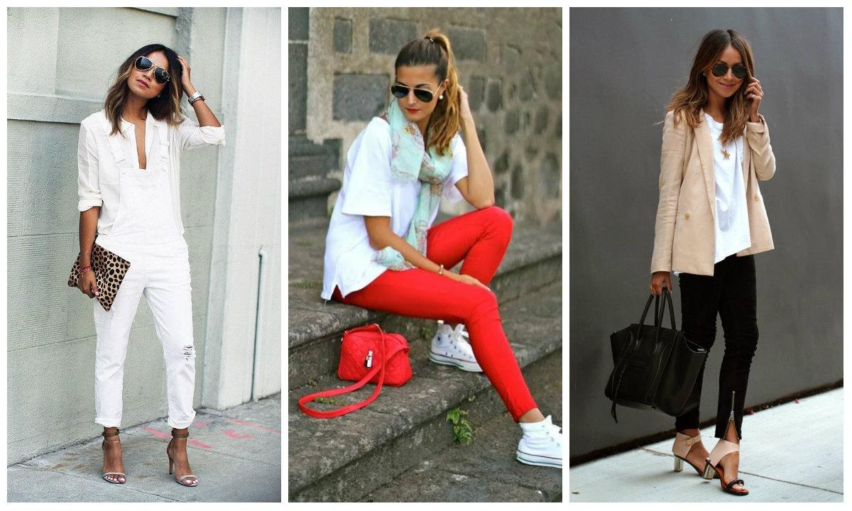 С чем носить белую женскую рубашку. Стильные варианты с фото 4