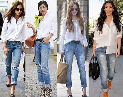С чем носить белую женскую рубашку. Стильные варианты с фото 5