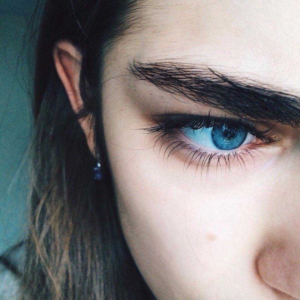 Удивительные и красивые картинки глаза - интересная подборка 1