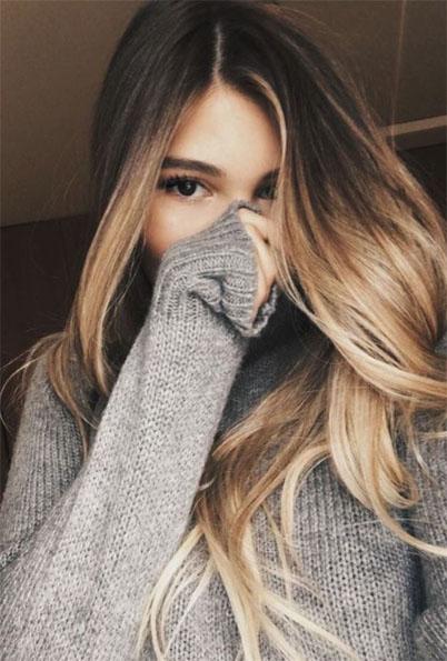 Фото на аву русые волосы для девушек - скачать бесплатно 2018 5