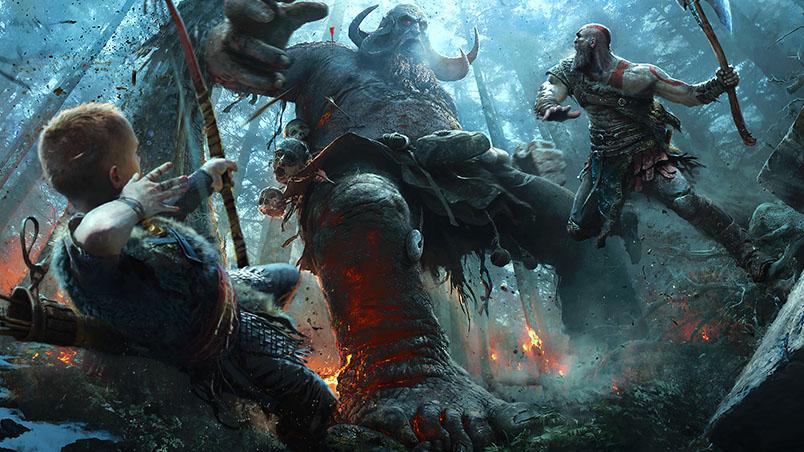 Sony показала начальный прототип новой God of War - новости 4