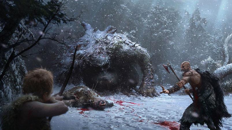 Sony показала начальный прототип новой God of War - новости 5