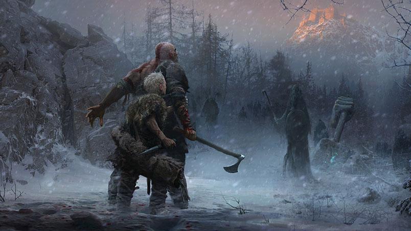 Sony показала начальный прототип новой God of War - новости 8