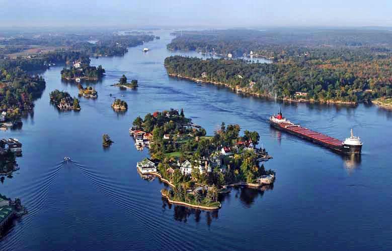 Великие реки мира - Река Святого Лаврентия и её особенности 2