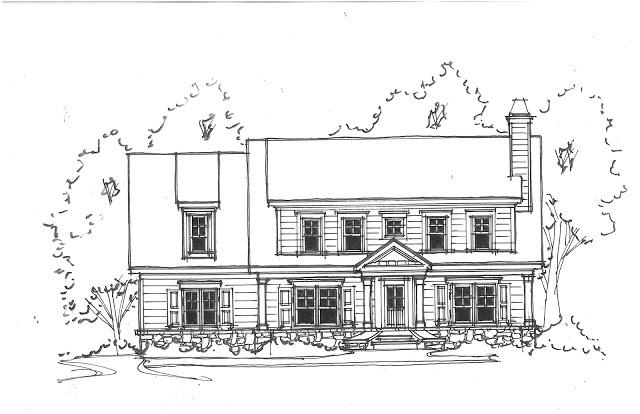 Домик и дом картинки нарисованные - красивые и прикольные 11